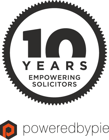 poweredbypie 10th anniversary logo