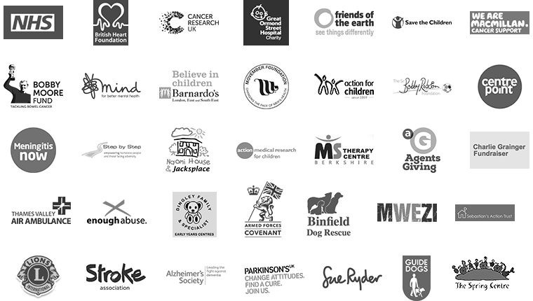 List of charity logos